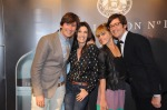 Iñaki Muñoz, Elia Galera, Bárbara Muñoz y Aitor Muñoz